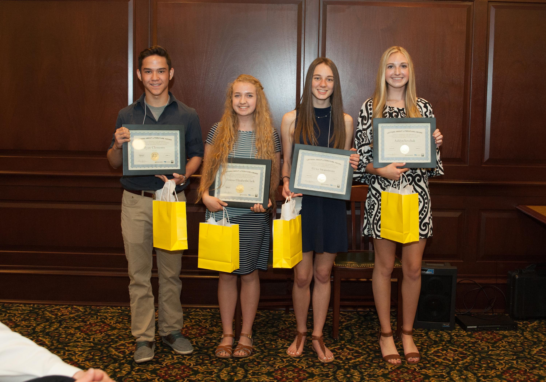 photo of Ryan Clements, Emma Elizabeth Clark, Alexa Swanstrom, Ashlyn Yevchak