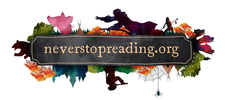 NeverStopReading logo