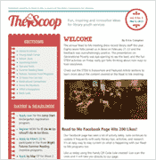 scoop newsletter screen shot