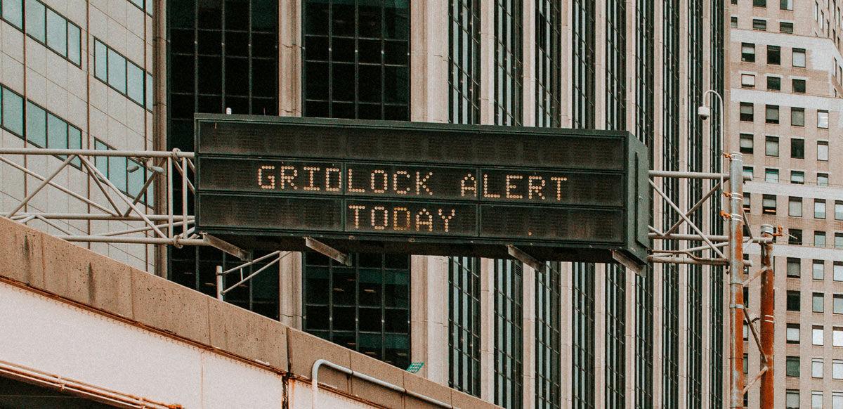Slow internet gridlock