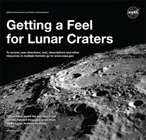 Getting a Feel for Lunar Crater