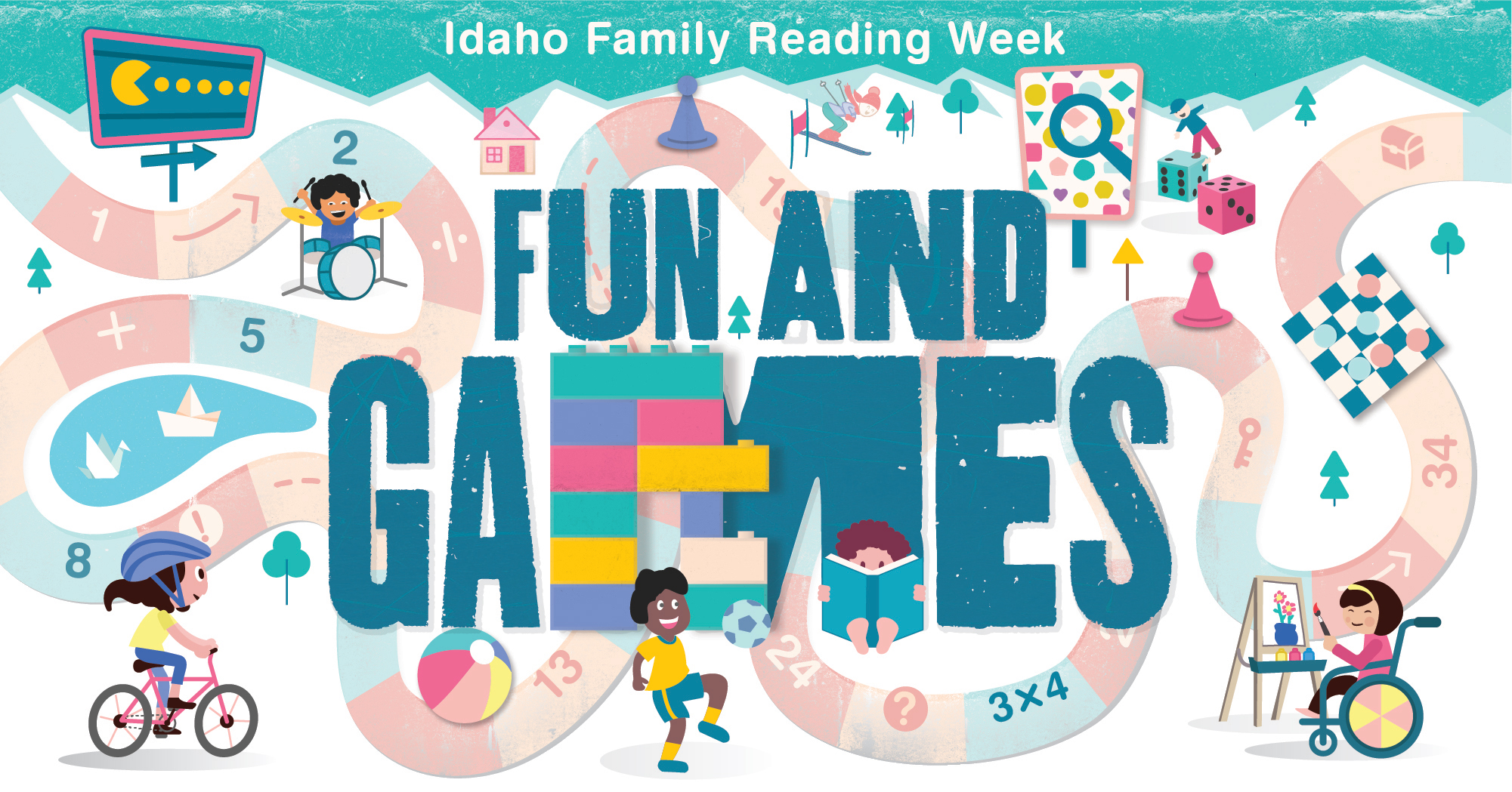 Idaho Family Reading Week logo
