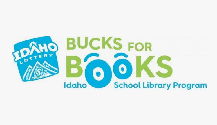 Bucks for Books logo