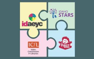 Parnership - IAEYC, Idaho Stars, ICfL, First Books